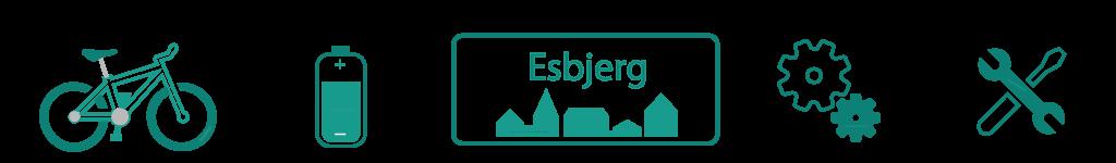 Elcykler og Cykler i Esbjerg