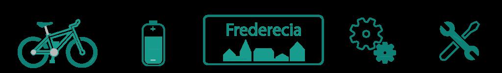 Elcykler og Cykler i Fredericia