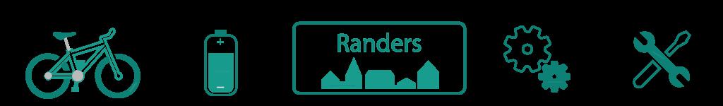 Elcykler og Cykler i Randers