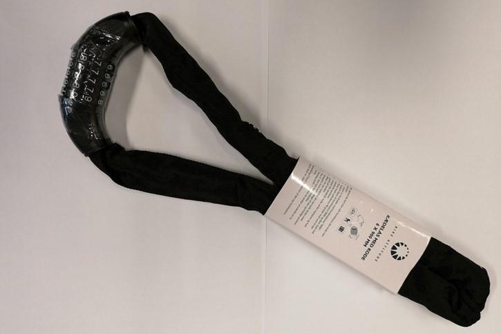 Kædelås 6x900 mm Sort m/kode