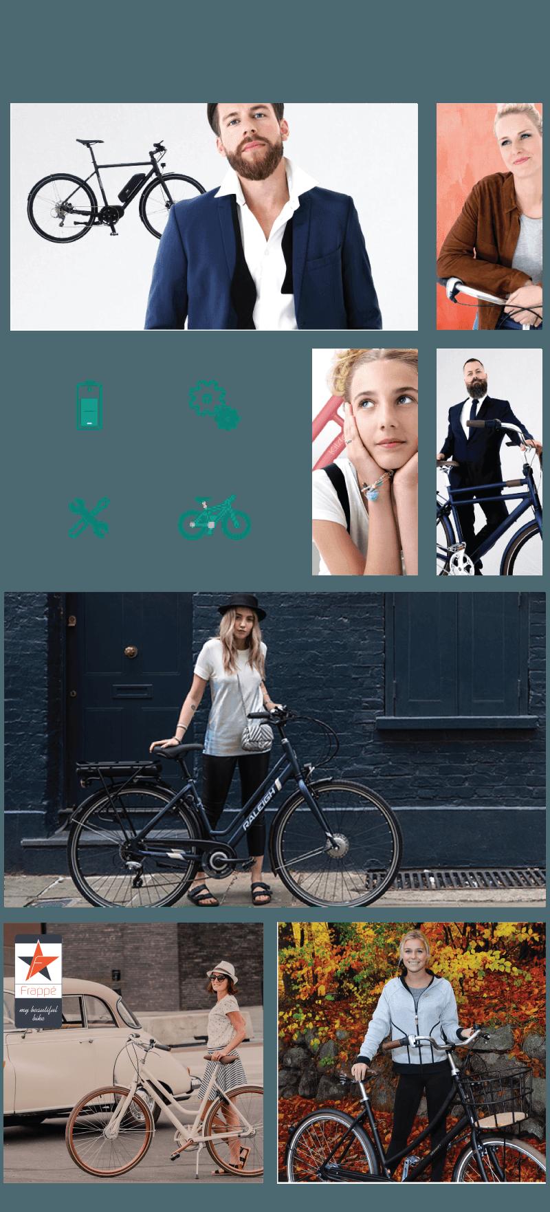 banner cykel billeder forsiden