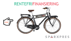 elcykel og cykel finansiering