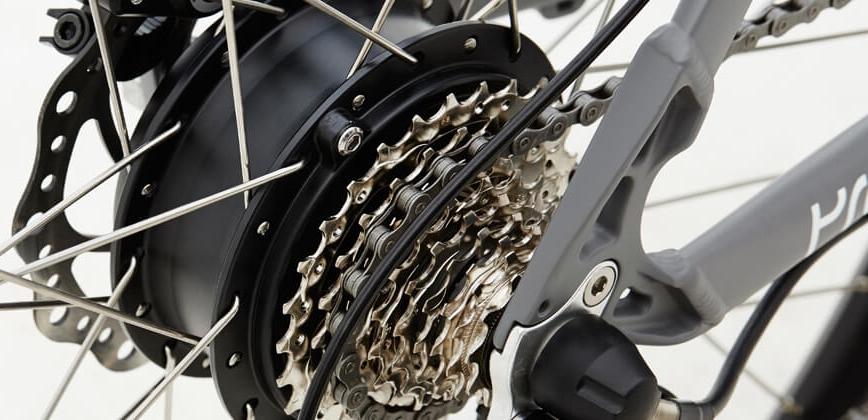promovec elcykel motorer