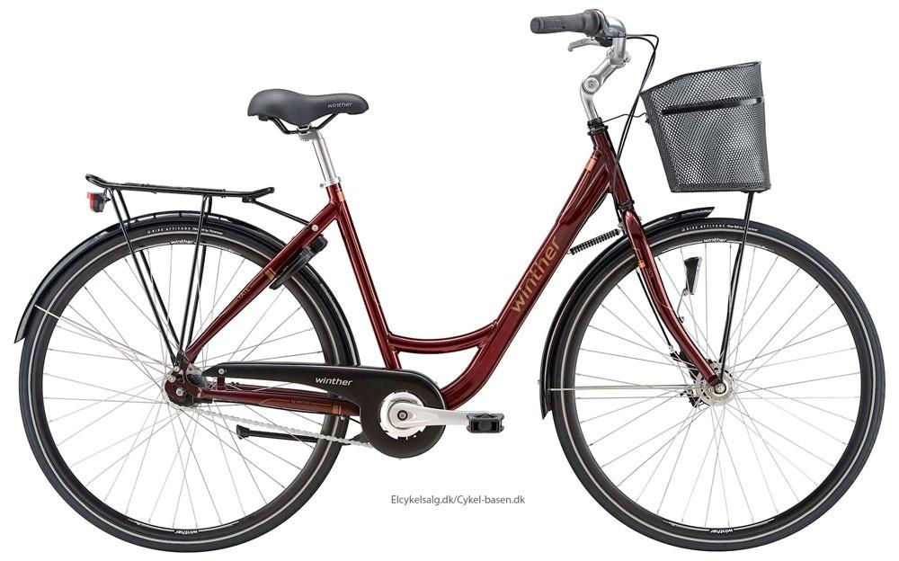 winther yate shopping cykel